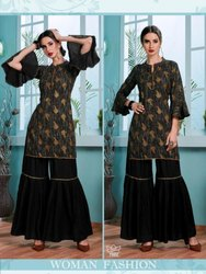 Black Fancy Kurti