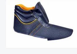 Black Split Montana Safety Shoe Upper