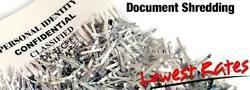 On-Site Data Destruction Or Paper Dispose Off Service