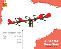 4 Seater See Saw OK_STA_018