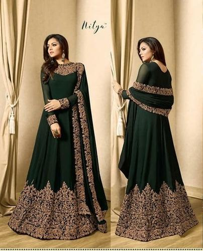 Designer Suit Party Wear Women New Salwar Kameez Suit 100 Export Oriented Unit From Surat