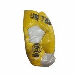 Yellow And White Football Ball