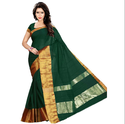 Latest Womens Green Saree