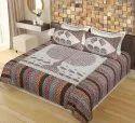 Big Tree Print Rajasthani Double Bedsheets