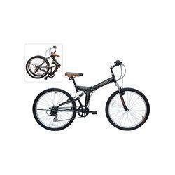Black Firefox 26 Kompac Folding Bicycle
