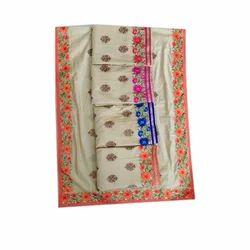 Cotton Printed Unstitched Suit