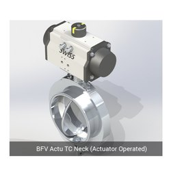 BFV Actuator TC Neck Actuator Operated