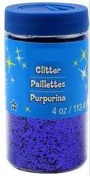 Glitter Powder for Art Craft & Nail Art - Square Glitter Vials (19 gms)
