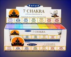 Satya 7 Chakra Masala Incense Sticks