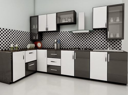 Indian Modular Kitchen Beige Indian Modular Kitchen Manufacturer