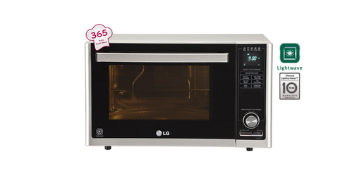LG Silver All In One Microwave Oven Mj3286sfu