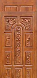Deccan doors wooden African teak wood, Grade: Bt, Thickness: 32MM