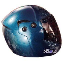 Blue Full Face Motorcycle Helmet