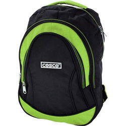 Cosco Black, Green Kit Bag Backpack, Size: H-45 X W-33 Cm