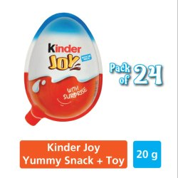Round Kinder Joy Chocolate, Packaging Type: Plastic