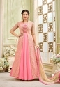 Heavy Net Embroidery New Designed Wedding Wear Anarkali Suits