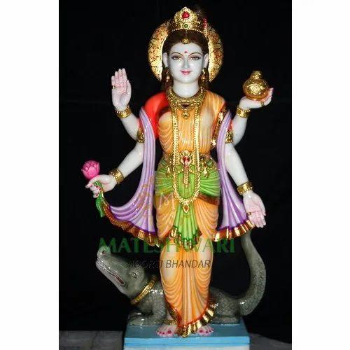 jaipurcraft marble ganga mata statue