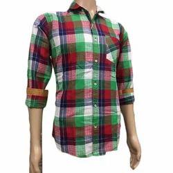 Multi Color Cotton Mens Fashion Shirt