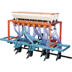 Mini Tractor 7 TYNES Seed Cum Fertilizer Drill
