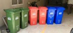 Plastic Wheel Garbage Can  Aristo 120Ltr & 240 Ltr