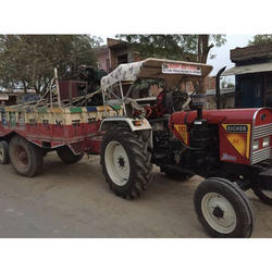 Rotavator Tractor Trolley Rental Service