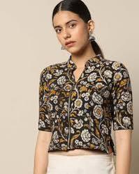 Cotton Printed Blouse