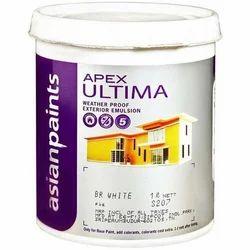 Asian Paints Apex Ultima Weatherproof Exterior Emulsion, Packaging Size: 1 Litre