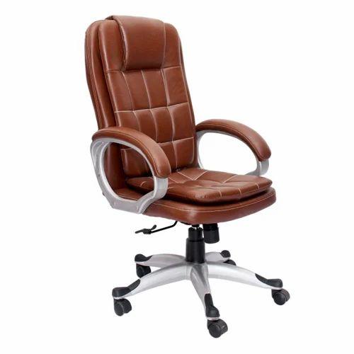Vj Interior Brown Saecula Executive High Back Chair