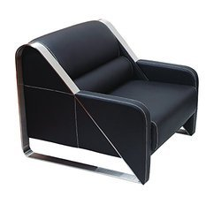 One Seater Sofa In Leatherette