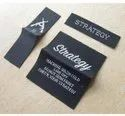 Black Woven Clothing Labels, Packaging Type: Packet