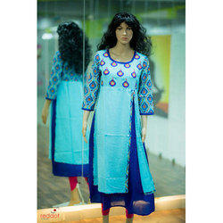 4d6c5667a8 Embroidered Kurtis in Hyderabad, Telangana | Get Latest Price from ...