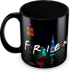 Black Sublimation Printed Mug