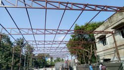 Structural Steel wood Steel Fabrication, Dimension / Size: 0.47mm Sheet Thickness