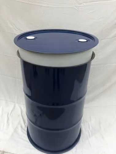 Blue 2 Metal Composite Barrel, For Industrial, Capacity: 200-250 litres