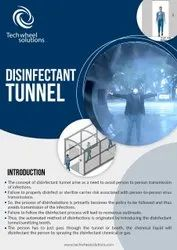 TWS Disinfectant Tunnel Kiosk