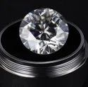 Colorless Round Cut Forever Moissanite Stone