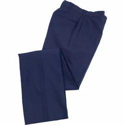 Mens Cotton Blue Trouser, Size: 32