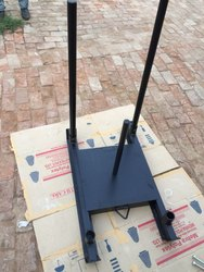 Iron Round Multi Used Gym Power Sled/Sledge, Weight: 30kg, Size: 40x26x40