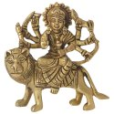 Durga Hindu Goddess Religious Statue