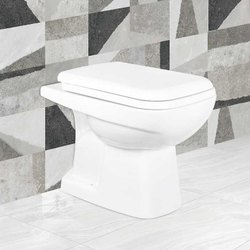Closed Front White Jaquar Western Toilet Seat for Bathroom Fitting