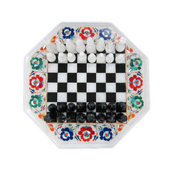 Chess Set with Table Top