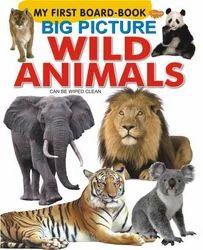 Big Picture Wild Animals Book