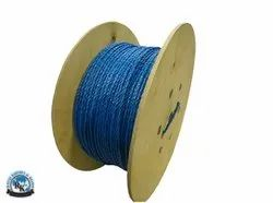 Blue 3 Strand Polypropylene Rope