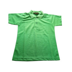 Kids Polo Neck T Shirt