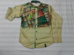 Cotton Boys Fancy Party Wear Shirt