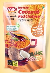 Instant Coconut Red Chutney