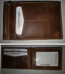 Money clip Rfid protected crunch leather