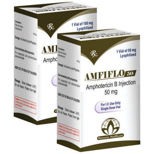 Antifungals - Amphotericin B Injection 50mg/100mg