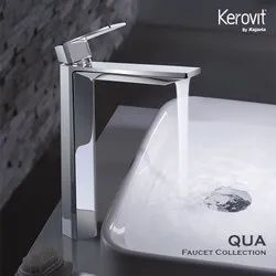Brass Deck Mounted Kerovit Basin Mixer, for Bathroom Fitting