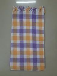 Multicolor Checked Cotton Towel, For Everywhere, Size: 30 X 60
